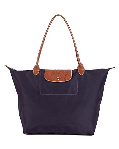 Longchamp - Bolsa de Sintético Mujer, color Negro, talla 19x30x31 cm (B x H x T)