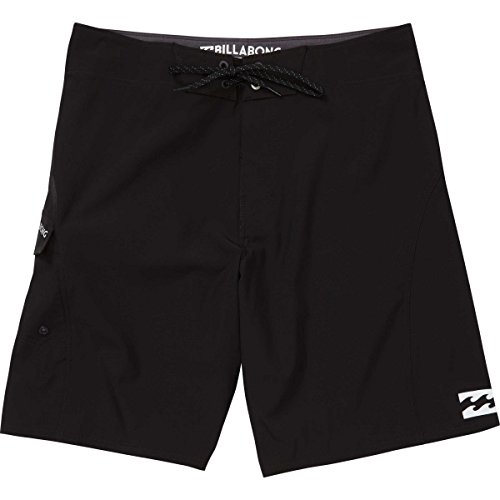Billabong Men's All Day X Solid Stretch Boardshort, Onyx, 33
