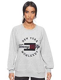 Tommy Hilfiger Lola C-NK Sweatshirt LS Chaqueta para Mujer