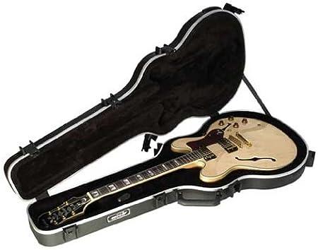 SKB 1SKB-35 - Maleta para guitarra de cuerpo delgado semi hueca: Amazon.es: Instrumentos musicales