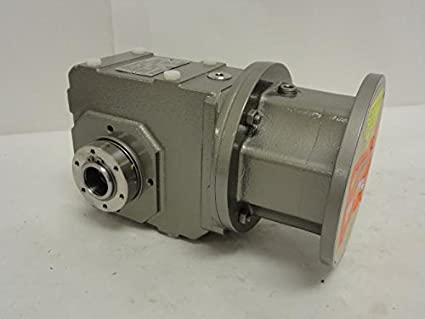 Amazon com: Stober K102WG0200MR160/050F Helical Gearbox, 20:1 Ratio