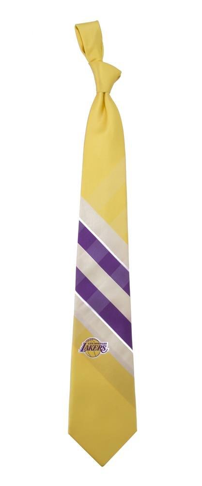 NBA Woven Poly Grid Necktie With Team Logo