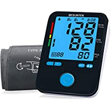 Blood Pressure Monitor Upper Arm Blood Pressure Cuff 8.7-16.5 inch LCD Display FDA Approved