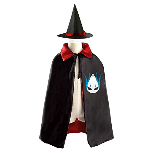 Cosplay Halloween Costume Set Algerian Clan Reversible Cape Witch Cloak with (Algerian Costume For Men)