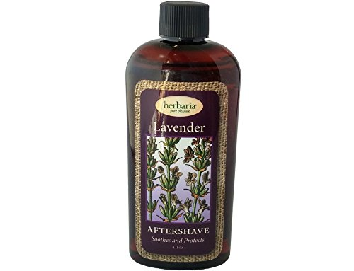 Herbaria Lavender Aftershave all natural with essential oils 4 ounces