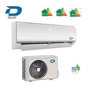 DILOC Frozen Aire Acondicionado 12000 BTU R32 - Climatizador Inverter de pared - D. frozen12