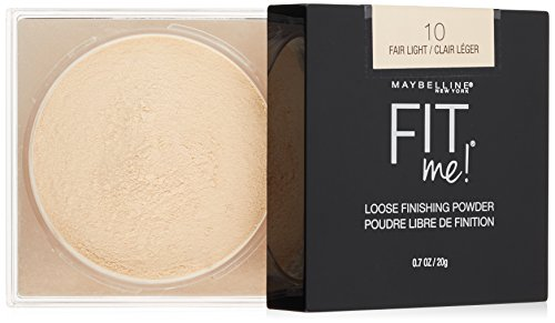 Maybelline Fit Me Loose Finishing Powder, Fair Light, 0.7 oz.