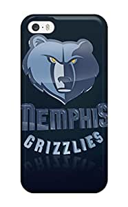 Hot Memphis Grizzlies Nba Basketball (1) First Grade Tpu Phone Case For Iphone 5/5s Case Cover