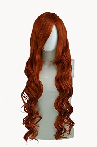 Epic Cosplay Hera Copper Red Cosplay Curly Wig 38 Inches (25CR)