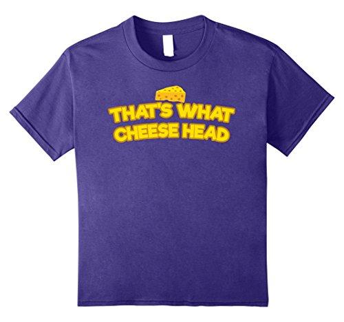 Kids That's What Cheese Head Tshirt She Said Quote Themed Gift Te 8 Purple