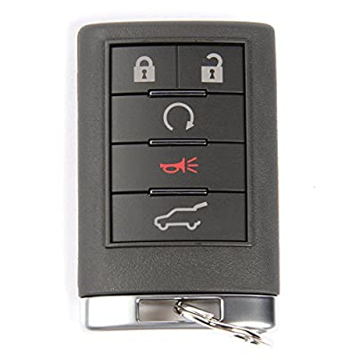 ACDelco 20998282 GM Original Equipment 5 Button Keyless Entry Remote Key Fob