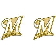Milwaukee Brewers Logo Post Earrings