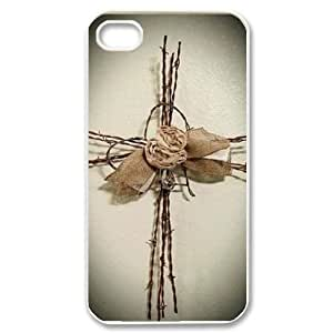 Cross DIY Cell Phone Case for iPhone 4,4S LMc-55629 at