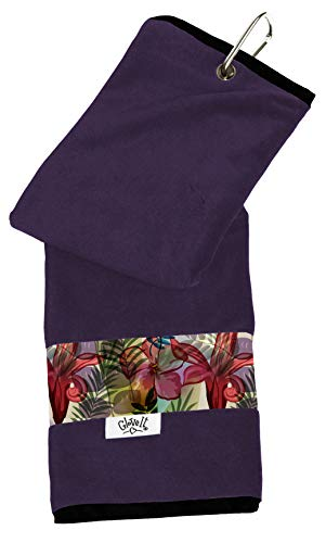 Glove It Womens Sport Towel Small Microfiber Workout Towels - Gym Towels for Women - Ladies Athletic Sports Towel - Absorbs Sweat Fast - Terry Micro Fiber - 2019 Tropical