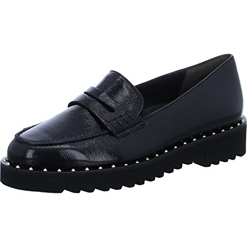 Paul Green Women's Loafer Flats Black ElYGob2d