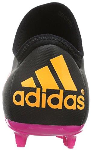 adidas X 15.2 FG/AG, Scarpe da Calcio Uomo Nero (Schwarz (Core Black/Shock Pink/Solar Gold))