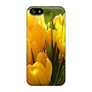 Case Cover Bright Crocus Flowers/ Fashionable Case For Iphone 5/5s