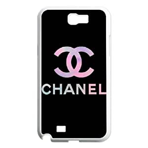 DIY phone case chanel cover case For Samsung Galaxy Note 2 N7100 JHDSQ2476