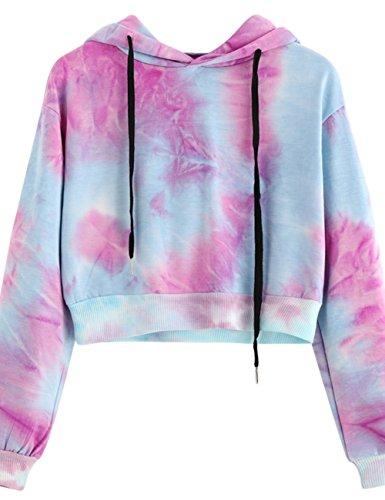 NarZhou Women Teen Girls Cotton Cute Crop Top Croptop ...