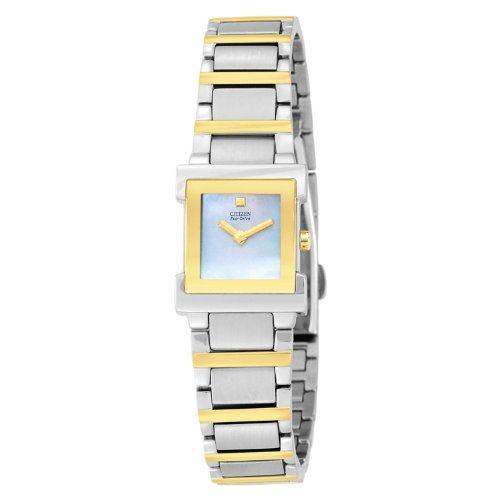 Citizen Women's EW9904-56D Eco Drive Two-Tone Watch (Watch 56d)