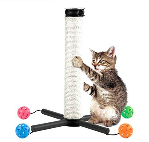 Creative Cat Toys Funny Puppy Pet Orbital Shaped Toys Intelligence Training Cat Toy Balls Disk Play Activity (ิblue)