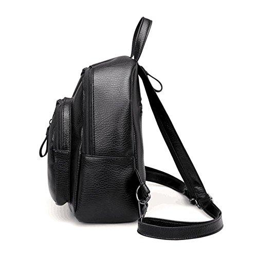 9e0afed43298 Tracy-B Womens Backpack Leather Multi-Way Girls School Backpack Shoulder Bag  Mini Backpack
