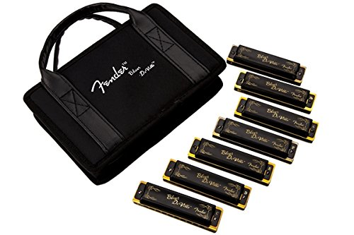 Fender Hot Rod DeVille Harmonica - 7 Pack with Case by Fender