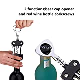 Foho Wine Opener, Multifunctional Wing Corkscrew