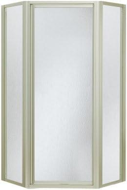 STERLING SP2276A-38N Shower Door Neoangle 72 x 15-13 16 x 27-9 16 x 15-13 16 Rain Glass Nickel