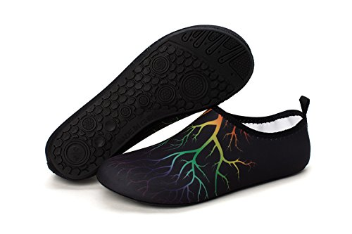 norocos Women's Lightweight Water Shoes Soft Barefoot Shoes for Men