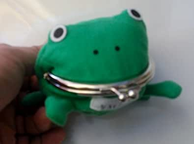 Anime Naruto Green Frog Coin Change Purse ~Cosplay