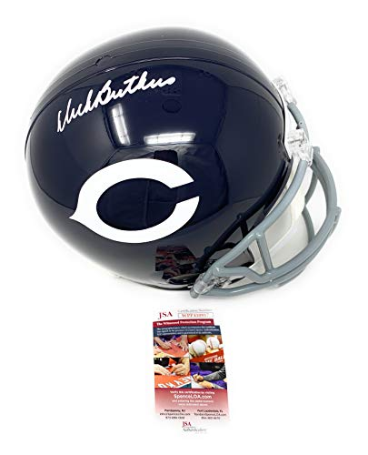 Helmet Butkus Dick - Dick Butkus Chicago Bears Signed Autograph Throwback Full Size Helmet JSA Witnessed Certified