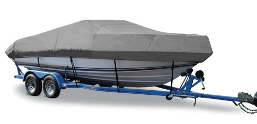 (TAYLOR MADE PRODUCTS Trailerite Semi-Custom Boat Cover for V-Hull Cuddy Cabin Boats with Inboard/Outboard Motor (18'5
