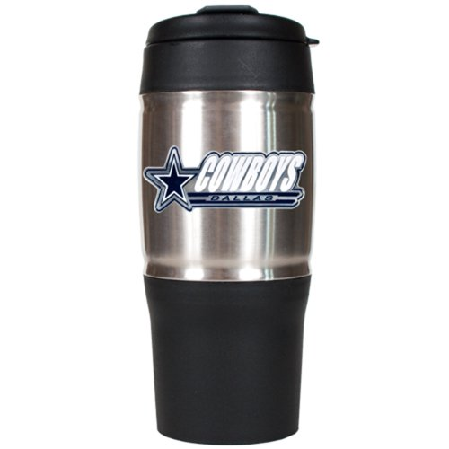 NFL Dallas Cowboys 18-Ounce Travel Mug (Dallas Cowboys Thermal Mug compare prices)