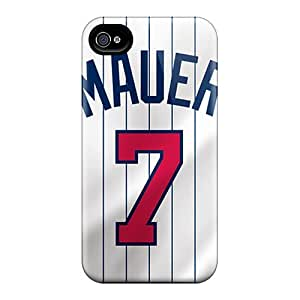 DannyLCHEUNG Iphone 6plus Best Cell-phone Hard Cover Custom Stylish Minnesota Twins Pattern [kyE4119CHGC]