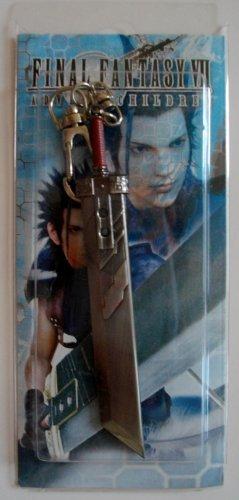 "4"" Final Fantasy VII 7 Crisis Core Metal Key Chain #2 ~Cosplay~"