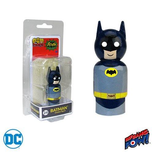 Batman Classic TV Series Batman Pin Mate Wooden Figure