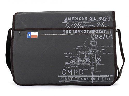 David Eagle Anthracite grau 37 Cm River Camp Messenger zqx4w787R