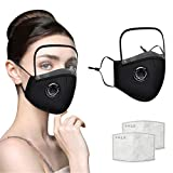 Protective Face Covering with Clear