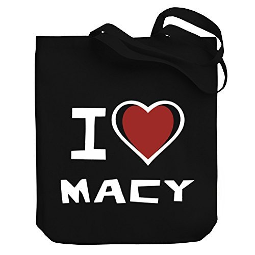 Valentine Herty Shopping bag I love Macy Canvas Tote - Shopping Macy's Bag