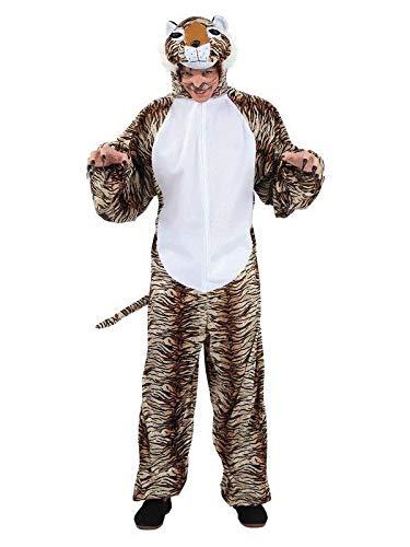 DISBACANAL Traje Disfraz de Tigre para Adulto - Único, XL ...