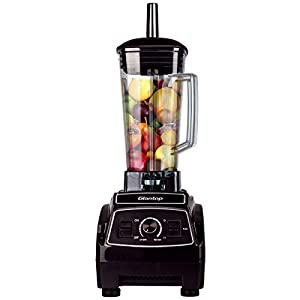 Glantop 2L Professional Commercial Blender Home Bar Restaurant Powerful Multifunction High Performance Food Processor Mixer Nutrition Blender – Just as good as a higher priced option.