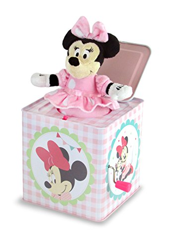 "Disney Baby Minnie Mouse Jack-in-the-Box, 6.25"" from Kids Preferred"