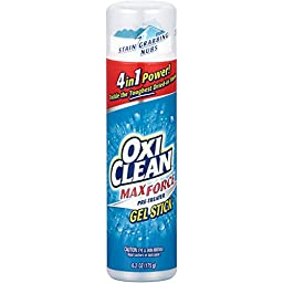 Arm & Hammer 57037-51355 OxiClean Max Force Gel Stick, 6.2 oz (Pack of 12)