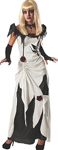 Rubie's Women's Scary Tales Adult Creeping Beauty Costume, Multi, Small