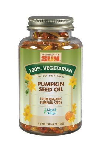 Sun Pumpkin Seed Oil - Pumpkin Seed Oil 90 SFG by Health From The Sun
