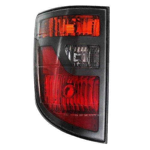 TYC Driver Side Rear Tail Light Lamp Left Assembly, 11-6100-01 HO2818131 33551SJCA01