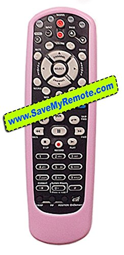 DISH Network Remote Rubber Skin Cover Pink 40.0