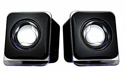 Renewed  Terabyte Mini USB2.0 Speaker  Black