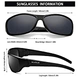 Polarized Sports Sunglasses for Men Women Sun
